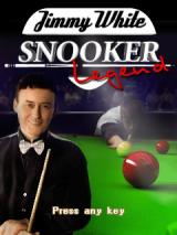 Jimmy White Snooker Legend J2ME Title screen