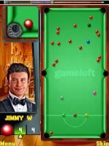 Jimmy White Snooker Legend J2ME A close up appears when getting close to the pocket