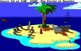 King's Quest IV: The Perils of Rosella Amiga A little island.
