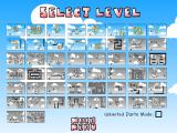 Bloons Browser Level selection screen