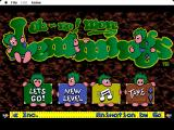 Oh No! More Lemmings Macintosh Title screen