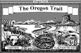 The Oregon Trail Macintosh Title screen
