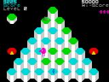 Pogo ZX Spectrum Level 2 - all steps should be coloured green.
