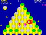 Pogo ZX Spectrum Level 3 - crushed by the rolling glass ball.