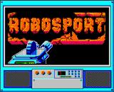 RoboSport Windows 3.x Title screen.