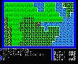 Ultima II: The Revenge of the Enchantress... MSX Exploring the Overland