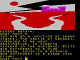 Red Moon ZX Spectrum At a sheep trail.