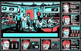 Star Trek: The Rebel Universe DOS The Bridge (CGA).