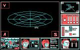Star Trek: The Rebel Universe DOS In Game (CGA).