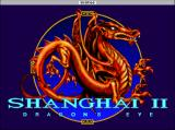 Shanghai II: Dragon's Eye Macintosh Title screen