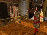Versailles 1685 DOS Lots of visitors in the King's bedroom this morning...