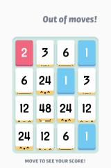 Threes! Browser Out of moves!