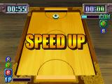 Air Hockey PlayStation Activating speed booster