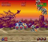 Super Turrican 2 SNES First stage - driving a buggy