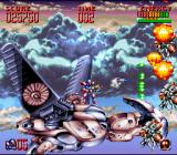 Super Turrican 2 SNES There's an extra-live hidden behind the wing.