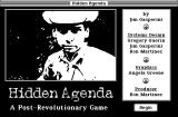 Hidden Agenda Macintosh Title screen