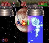 "Super Turrican 2 SNES Fighting the ""Spaceghost"""