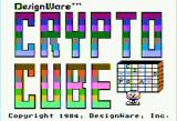 Crypto Cube Apple II Title screen (1984 release)