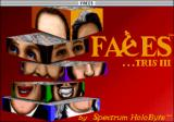 Faces ...tris III Macintosh Title screen (Color)