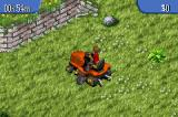 The Sims: Bustin' Out Game Boy Advance Mowing the lawn for simoleons