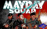 Mayday Squad DOS Title Screen (EGA).
