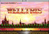 Welltris Macintosh Title screen (Color)