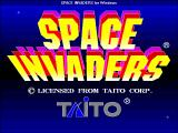 Space Invaders Windows 3.x Title screen
