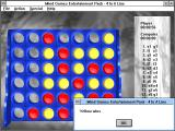 Mind Games Entertainment Pack for Windows Windows 3.x My opponent won! (4 in a Line)