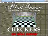 Mind Games Entertainment Pack for Windows Windows 3.x Title screen (Checkers)