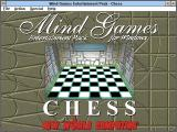Mind Games Entertainment Pack for Windows Windows 3.x Title screen (Chess)