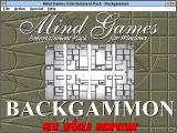 Mind Games Entertainment Pack for Windows Windows 3.x Title screen (Backgammon)