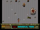 Time Soldiers Amiga Use the teleport to warp to a different time eras