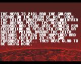Alien Breed Amiga Story screen embedded into the game