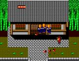 Time Soldiers SEGA Master System Who lives in that old house?