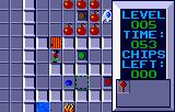 Chip's Challenge Lynx Level 5 - mind those bombs!