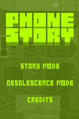 Phone Story Browser Title screen