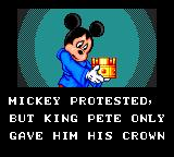 Legend of Illusion starring Mickey Mouse Game Gear Mickey is the hero!
