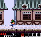 Legend of Illusion starring Mickey Mouse Game Gear Starting in a fog