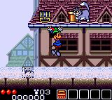 Legend of Illusion starring Mickey Mouse Game Gear Trying to avoid the bucket the cat is about to throw