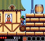 Legend of Illusion starring Mickey Mouse Game Gear Rolling on a barrel!