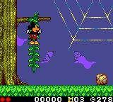 Land of Illusion starring Mickey Mouse Game Gear Climbing