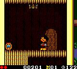 Land of Illusion starring Mickey Mouse Game Gear Be careful, spider!