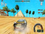 Screamer 2 Windows Racing in Egypt at high resolution (3dfx version, GOG.com release).