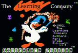 Gertrude's Puzzles Apple II Title screen