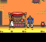 Disney's Aladdin Game Gear Aladdin steals a fruit...