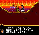 Disney's Aladdin Game Gear Beautiful view
