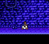Disney's Aladdin Game Gear Aladdin in prison