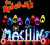 Dr. Robotnik's Mean Bean Machine Game Gear Funny title screen