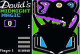 David's Midnight Magic Apple II A game in progress