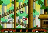 The Fantastic Adventures of Dizzy Genesis Jumping at the sight of a spider